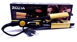 Утюжок плойка выпрямитель для волос Rozia HR705 2 в 1, фото 3