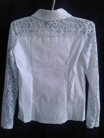 Блузка в школу  для девочки р.122-146 опт, фото 2