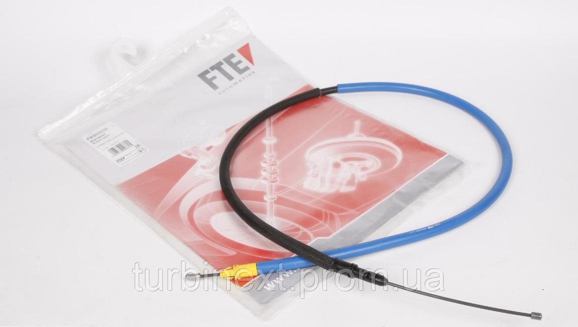 Трос ручника (задний) Fiat Scudo 07- (1495/1275mm) FTE FBS05039