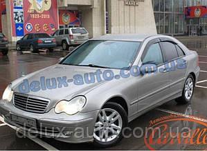 Ветровики Cobra Tuning на авто Mercedes Benz C-klasse Sd W203 2000-2006 Дефлекторы окон Кобра Мерседес С 203