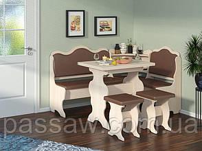Кухонный уголок с раскладным столом Корнет