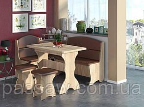 Кухонный уголок с раскладным столом Сенатор