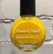 Лак- краска для стемпинга Kand Nail 10 ml , желтая