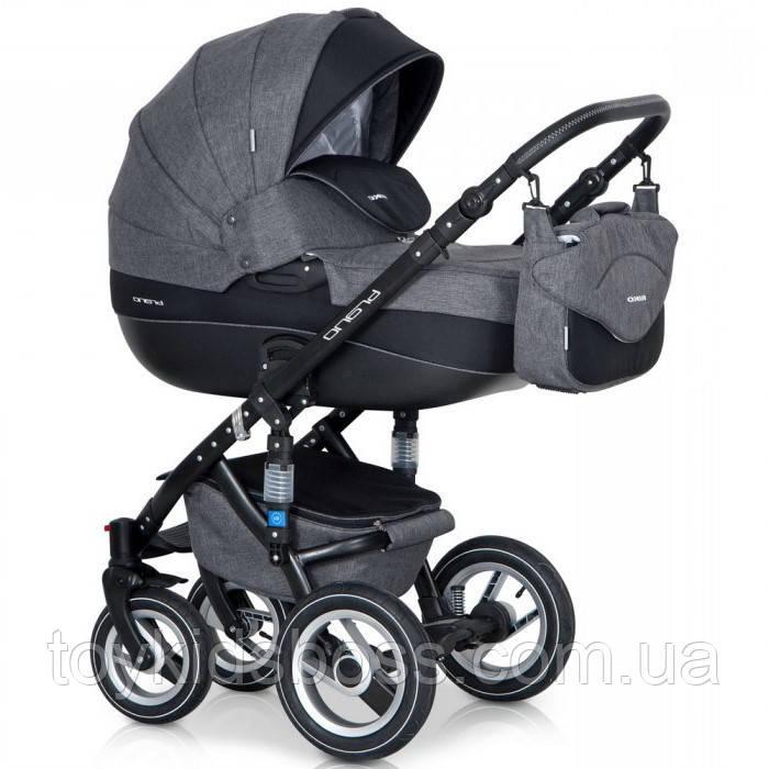 Детская универсальная коляска 2 в 1 Riko Brano 01 Carbon