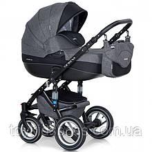 Дитяча універсальна коляска 2 в 1 Riko Brano 01 Carbon