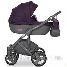 Детская универсальная коляска 2 в 1 Riko Vario 04 Purple