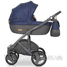 Детская универсальная коляска 2 в 1 Riko Vario 05 Denim