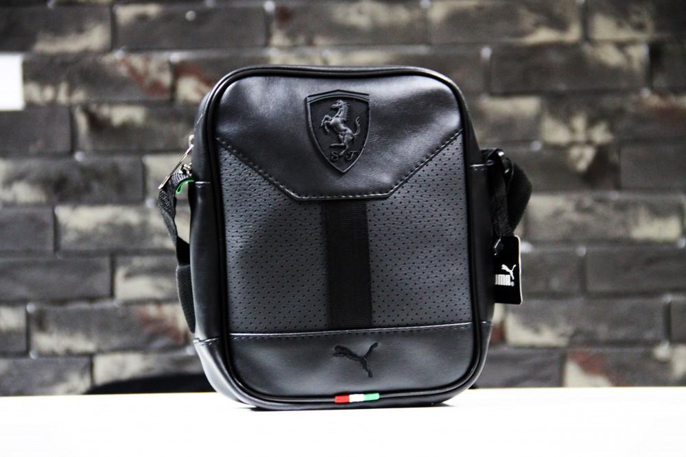 Барсетка Puma leather black