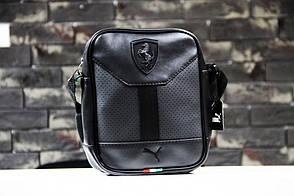 Барсетка Puma leather black, фото 2