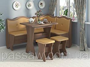 Кухонный уголок с раскладным столом Герцог