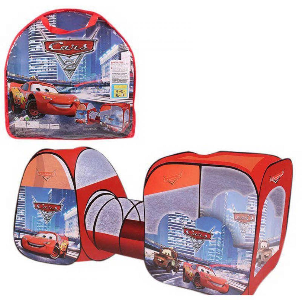 Палатка детская с туннелем Bambi Тачки 8015 C