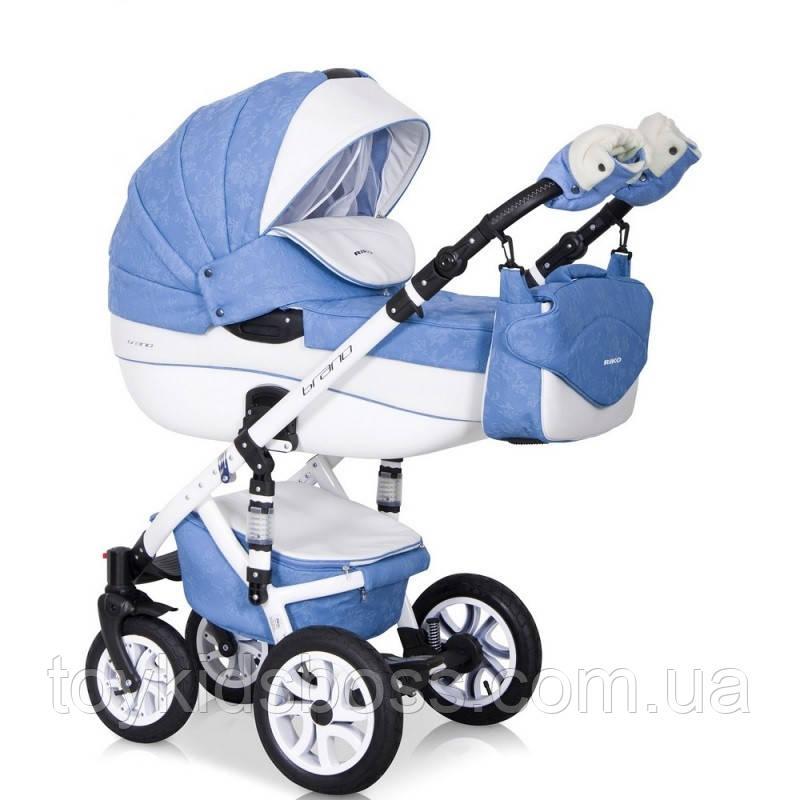 Дитяча універсальна коляска 2 в 1 Riko Brano Ecco 16 Sky Blue