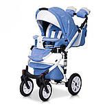 Дитяча універсальна коляска 2 в 1 Riko Brano Ecco 16 Sky Blue, фото 3