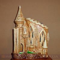 Соляная лампа, светильник ночник Украина замок рыцарский LUX-132406