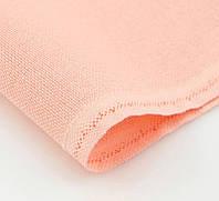 Ткань равномерного переплетения Zweigart Brittney Lugana 28 3270/4087 Peach Pink (Розовый персик)