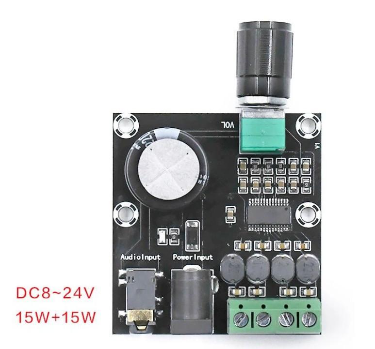 Аудіо підсилювач XH-A230 2х15 Вт