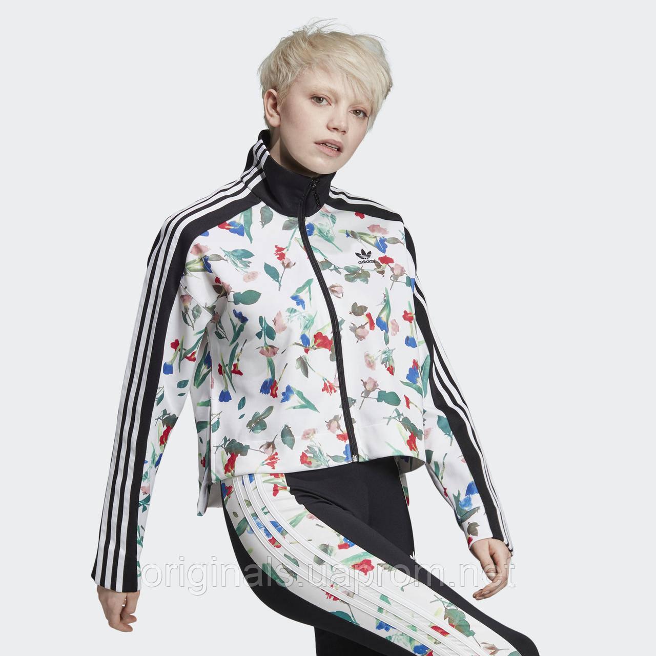 Женская олимпийка Adidas Allover Print ED4762