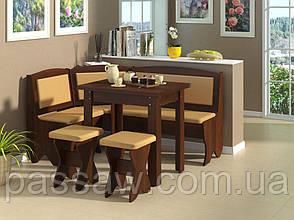 Кухонный уголок с раскладным столом Император