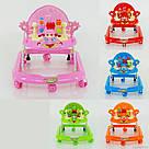 Ходунки для малышей JOY 528 с игровой панелью, фото 4
