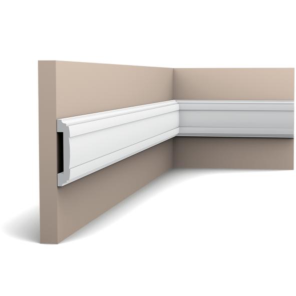 Молдинг для стен, гладкий, Orac Decor Axxent PX102, лепной декор из дюрополимера