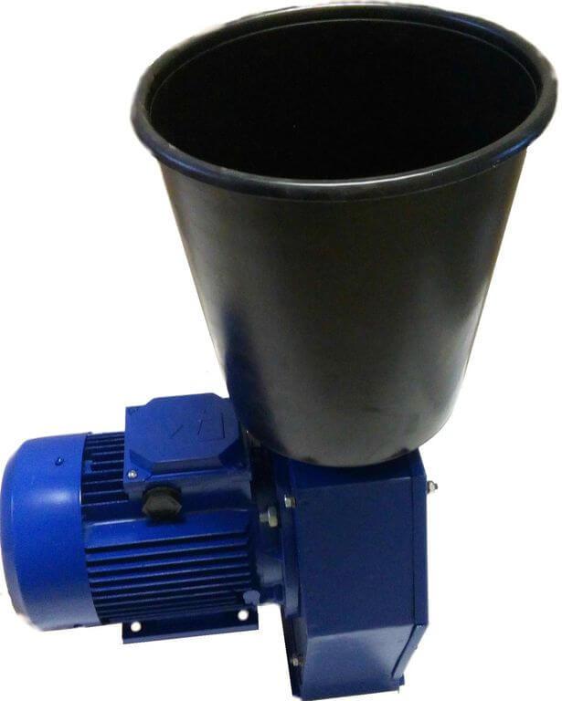 Зернодробилка Эликор 3 до 350кг зерна в час на 220В