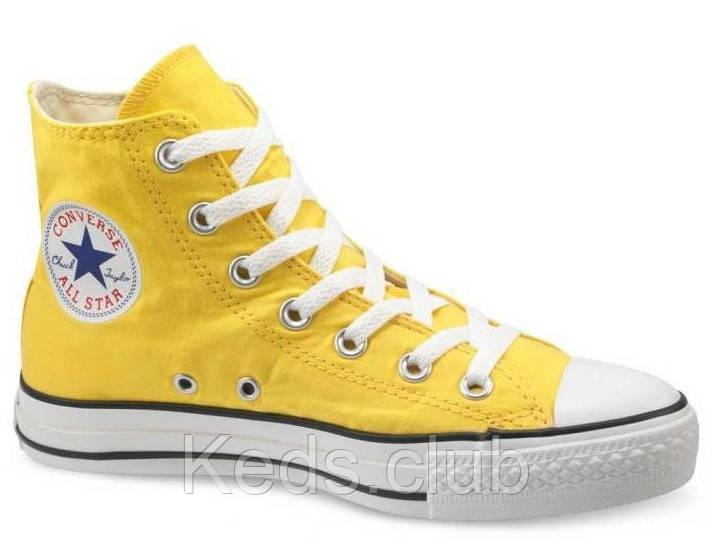 Кеды Converse All Star высокие желтые (citrus)  продажа, цена в ... 865d9c6e860