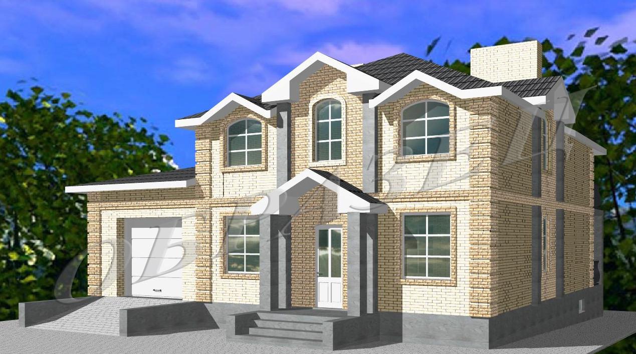 Готовый проект жилого дома К21