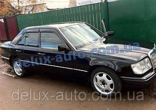 Ветровики Cobra Tuning на авто Mercedes Benz E-klasse Sd W124 1984-1995 Дефлекторы окон Кобра Мерседес Е 124