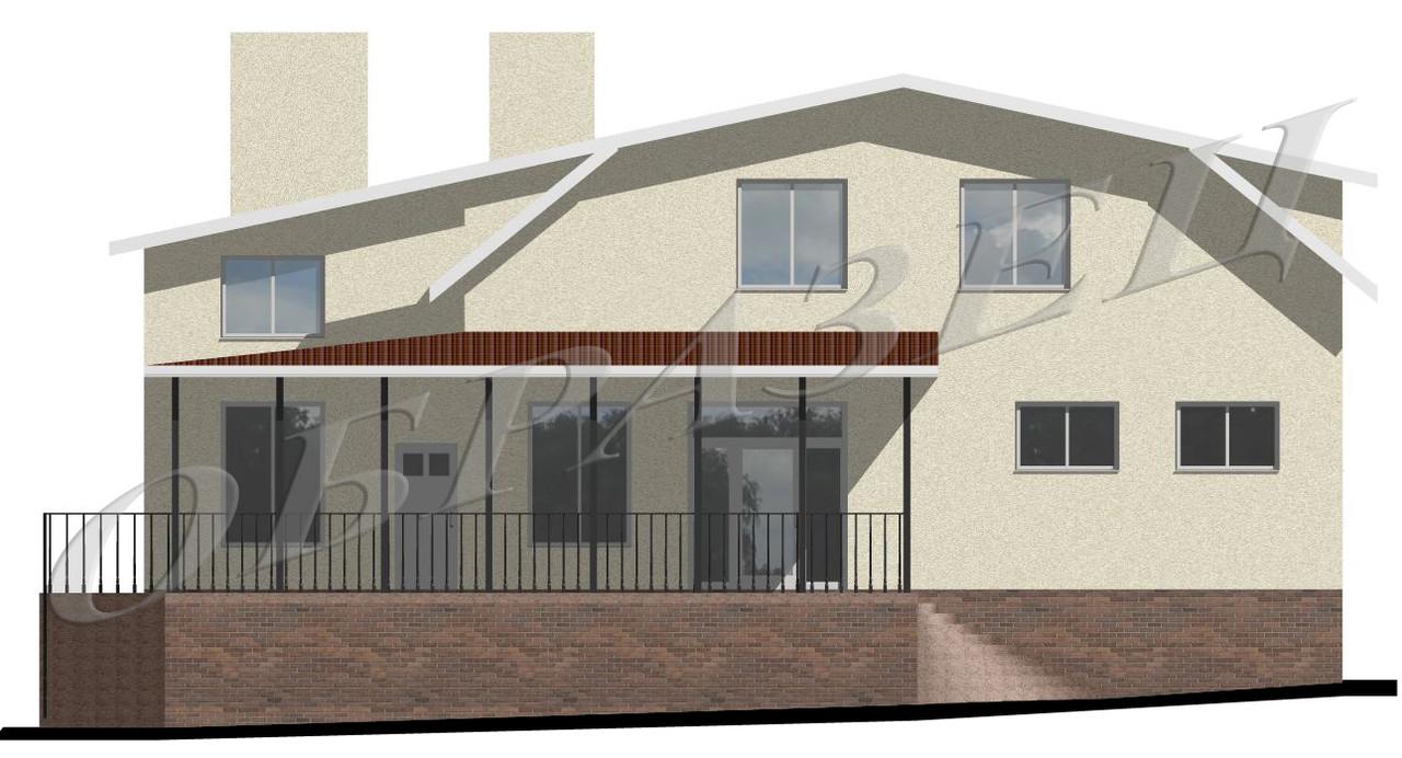 Готовый проект жилого дома К22