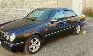 Ветровики Cobra Tuning на авто Mercedes Benz E-klasse Sd W210 1995-2002 Дефлекторы окон Кобра Мерседес Е 210
