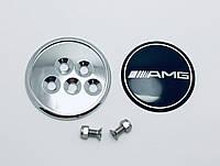 Эмблема багажника Mercedes AMG вместо штатного знака