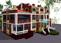 Готовый проект жилого дома К23, фото 1