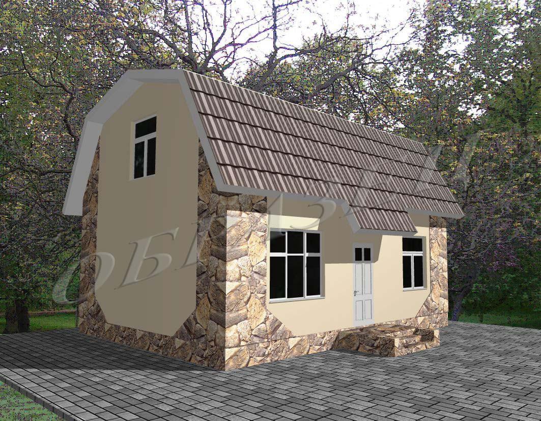Готовый проект жилого дома К24