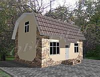 Готовый проект жилого дома К24, фото 1