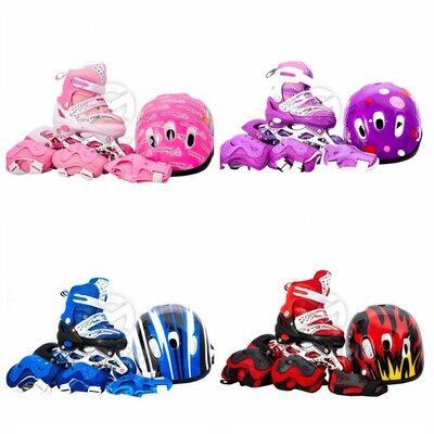 Ролики детские Maraton Шлем и комплект Зашиты 28-41