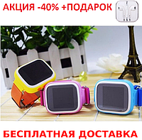 Детские наручные часы Smart  Baby Watch Q80 смарт (10/53) часы телефон GPS трекер+Наушники