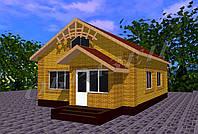 Готовый проект жилого дома К25, фото 1