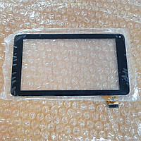 Сенсор (тачскрин) для планшетов Bravis NB701, NB70, NP72 (186*104 mm)  черный оригинал (протестирован!)