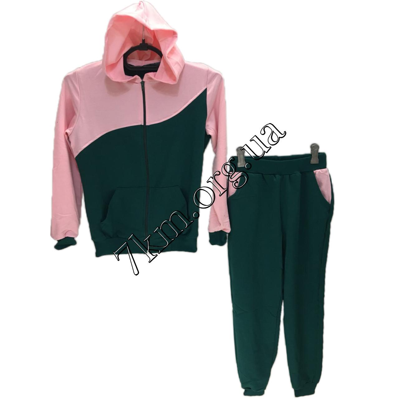 Спортивный костюм детский для девочек 6-12 лет Оптом 290604-5