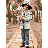 Картина по номерам Настоящий джентльмен 30Х40см Babylon VK195