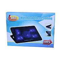 Подставка для ноутбука с подсветкой и охлаждением Notebook Idea Cooling M8
