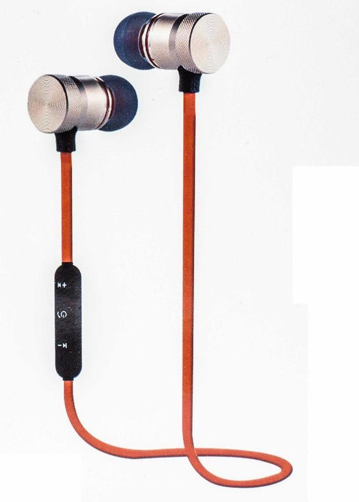 Проводные Bluetooth наушники с магнитами BIGPRO SPORT CD11 Оранжевые