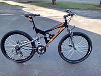 Горный двухподвесный велосипед Azimut Shock 26 GD New