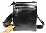 Мужская сумка. Сумка планшет. Молодёжные сумки. Небольшая мужская сумка. Мужские кожаные сумки, фото 4