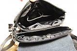 Мужская сумка. Сумка планшет. Молодёжные сумки. Небольшая мужская сумка. Мужские кожаные сумки, фото 7