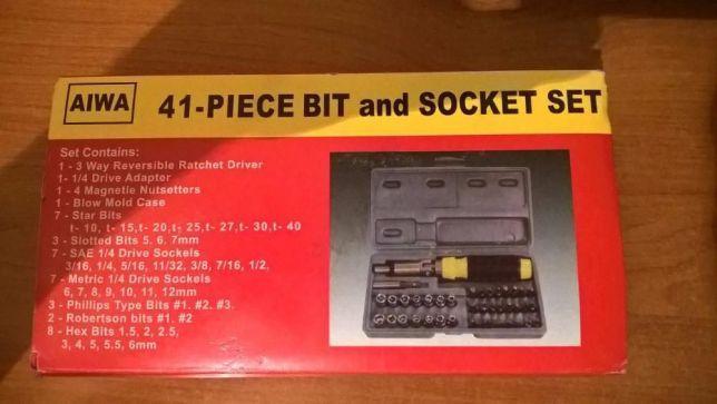 Набор инструментов AIWA 41-Piece bit and Socket Set