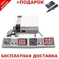 Игровая приставка CoolBaby Video Games Dendy, Игровая ретро приставка Денди NES 8bit  500в1 + нож визитка