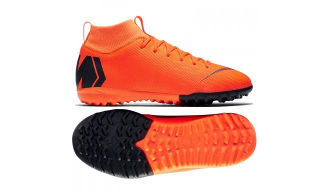 Детские сороконожки Nike MercurialX SuperflyX 6 Academy jr TF AH7344-810