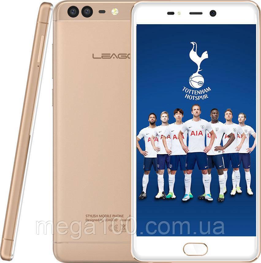 "Смартфон Leagoo T5 золотой (""5.5 экран, памяти 4/64, батарея 3000 мАч)"