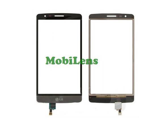 LG D724, D722, D725, D728, LG G3S, LG G3 mini Тачскрин (сенсор) черный (темно-серый), фото 2
